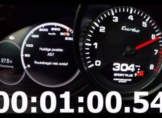 0-307 χλμ./ώρα με νέα Porsche Cayenne Turbo