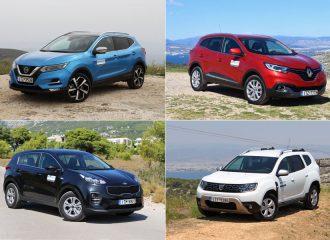 Diesel μικρομεσαία SUV σε χαμηλές τιμές