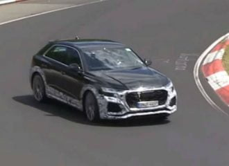 «Στα πράσα» και με το πλάι το Audi RS Q8 (+video)