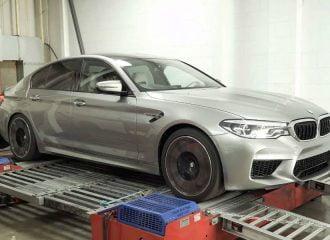 Πόσα άλογα βγάζει η νέα BMW M5 στο δυναμόμετρο; (+video)