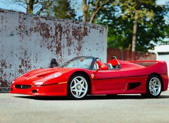 Πωλείται η πρώτη Ferrari F50 που κατασκευάστηκε ποτέ