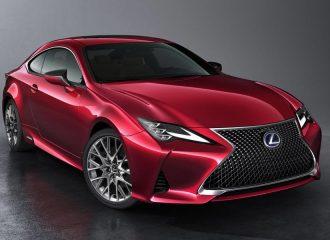Ανανέωση για το Lexus RC