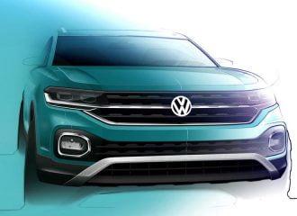 VW T-Cross: Eπίσημα σκίτσα, πληροφορίες και νέο video
