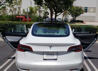 Tesla αξίας 80.000 με έλεγχο ποιότητας για κλάματα