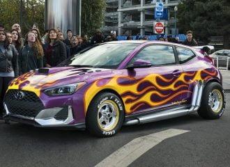 Παρθενική εμφάνιση για τη Hyundai στο Hollywood