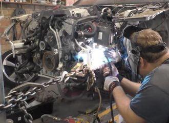 Τρακαρισμένο Audi A6 έγινε… καινούργιο σε 10 μέρες! (+video)