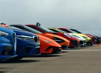 Επική κόντρα μεταξύ 12 αυτοκινήτων 5.575 ίππων! (+video)