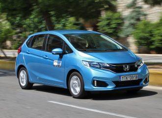Δοκιμή Honda Jazz 1.3 λτ. i-VTEC MY18
