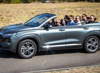 Hyundai Santa Fe Cabriolet για μεγάλες παρέες (+video)