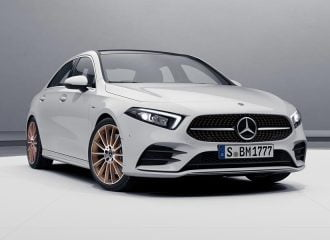 Νέα μοναδική Mercedes A-Class Sedan Edition 1