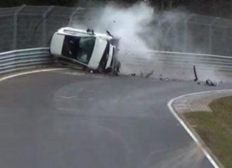 Ένα video γεμάτο τρακαρίσματα από το Nurburgring (+video)