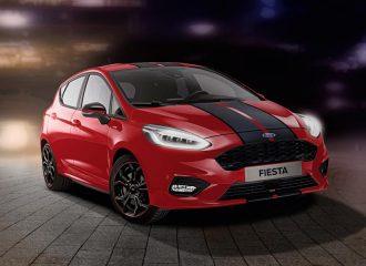 Νέα Ford Fiesta ST-Line Red Edition και Black Edition