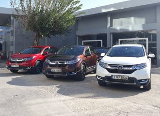 Τιμές και εκδόσεις του νέου Honda CR-V στην Ελλάδα