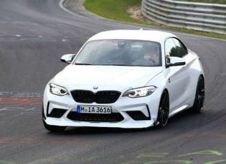 Η BMW M2 CS «πάει κομμάτια» στο Nurburgring