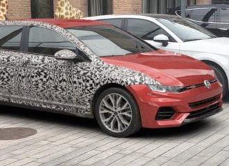 Πιάστηκε «στα πράσα» το νέο VW Golf