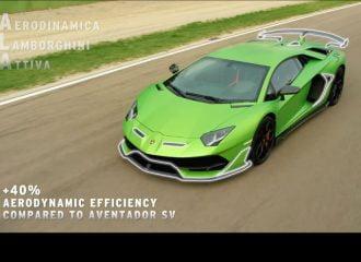 Η μαγεία της ενεργής αεροδυναμικής της Lamborghini σε ένα video