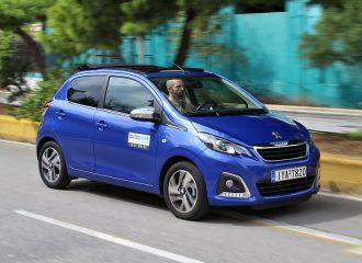Δοκιμή Peugeot 108 ΤΟP! 5d 1.0 PureTech 72 PS