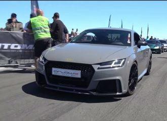 Βελτιωμένο Audi TT RS κάνει το R8 να ζηλεύει (+video)