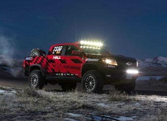 Pickup Chevrolet έτοιμο για να… οργώσει το Ντακάρ