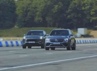 H Mercedes-AMG GLC 63 S «τρομοκρατεί» την Porsche Macan Turbo (+video)
