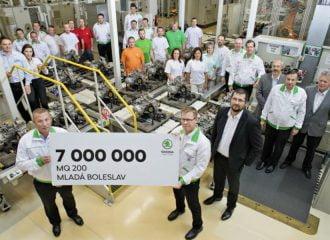 7.000.000 κιβώτια ταχυτήτων από τη Skoda!
