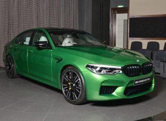 BMW M5 Competition για δώρο Χριστουγέννων!