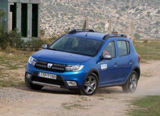 Δοκιμή Dacia Sandero Stepway 1.5 dCi 90 PS