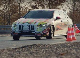 H νέα Mercedes-AMG A 45 δεν ισιώνει! (+video)