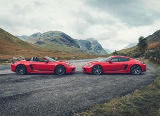 Nέες Porsche 718 Cayman T & Boxster T (+video)