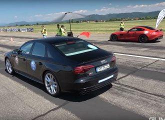 Audi S8 πετάει «το κοστούμι» και κατεβαίνει σε dragster (+video)