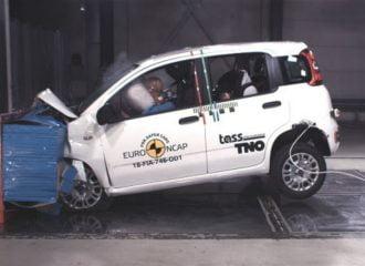 Το Fiat Panda πήρε 0 αστέρια στο Euro NCAP