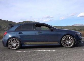 Τέρμα γκάζι με την νέα Mercedes-AMG A35 (+video)