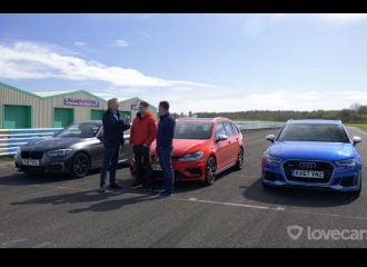 Τι κάνει το VW Golf R απέναντι στα Audi RS 3 και BMW M140i (+video)