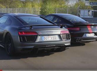 Audi R8 και Porsche 911 Turbo σε κόντρες 2.000 ίππων! (+video)