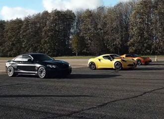 Η BMW M2 τα βάζει με τον κεντρομήχανο ανταγωνισμό (+video)