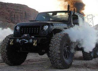 Ασύλληπτο 6τροχο και ατμοκίνητο Jeep Wrangler (+video)