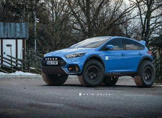 Αυτό το Ford Focus RS δεν κολλάει πουθενά!