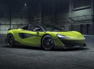 Καλωσορίστε τη νέα McLaren 600LT Spider