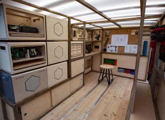 Το απόλυτο van της Nissan για ξυλουργούς (+video)