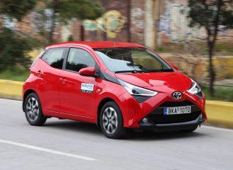 Δοκιμή Toyota Aygo 1.0 VVT-i 72 hp x-shift