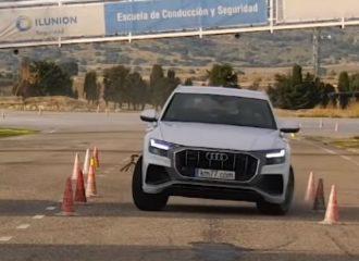 «Άνεμος» το Audi Q8 στο τεστ αποφυγής ταράνδου (+video)