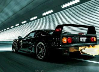 Πωλείται «εκρηκτική» και αψεγάδιαστη Ferrari F40!