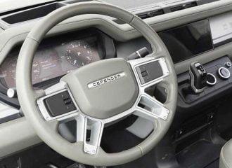 Ιδού το εσωτερικό του νέου Land Rover Defender