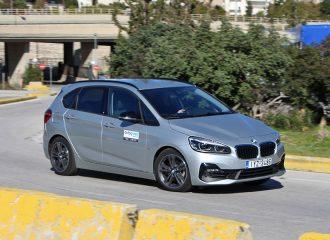 Δοκιμή BMW 218i Active Tourer 1.5 λτ. 140 PS