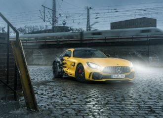 Αυτή η Mercedes-AMG GT R είναι το όνειρο κάθε ΑΕΚτζη!