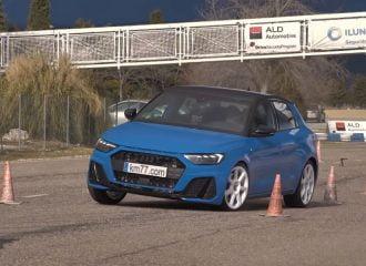 «Τάπα» το νέο Audi A1 στο τεστ αποφυγής ταράνδου (+video)