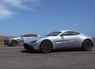 H BMW M5 «καταστρέφει» την Aston Martin Vantage (+video)
