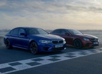 BMW M5 και Mercedes-AMG E63 S «σφάζονται» στην πίστα (+video)