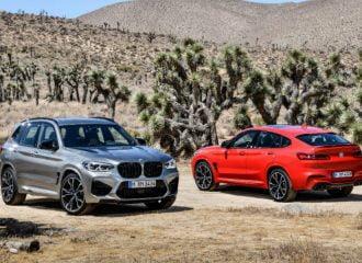 Καταιγιστικές BMW X3 και X4 M με έως 510 ίππους