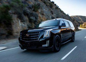 Άτρωτη Cadillac Escalade για VIP μετακινήσεις (+video)